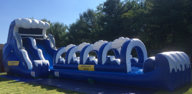Double Drop Wave Slip 'N Slide Combo