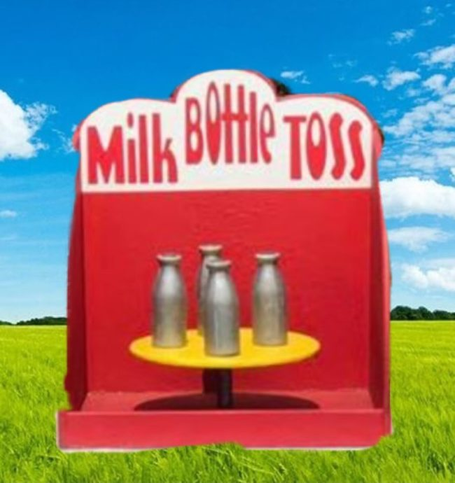 Milk Bottle Toss