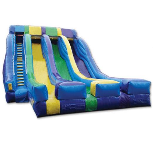 Triple Splash Slide
