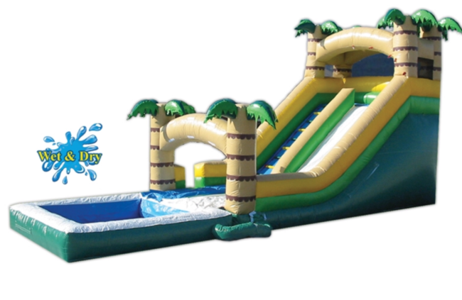 Tropical Wet/Dry Slide