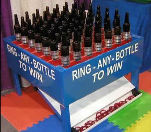 Giant Bottle Ring Toss