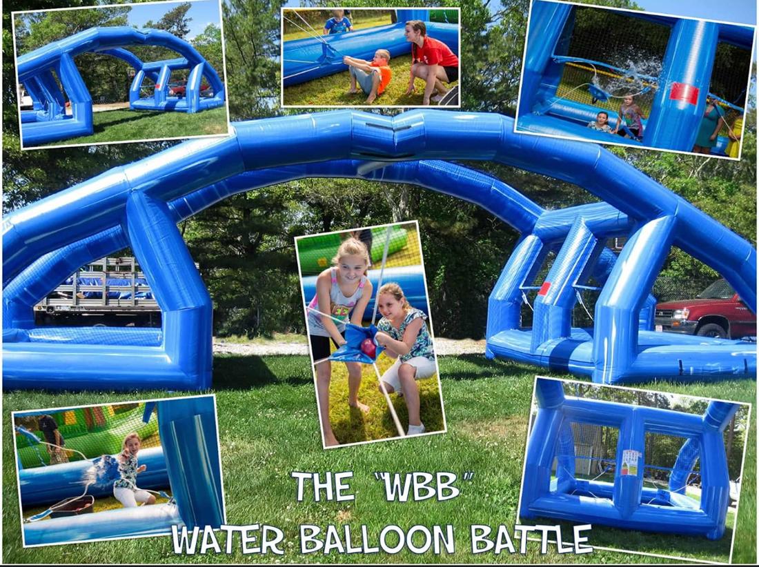 Dual Lane Water Balloon Battle