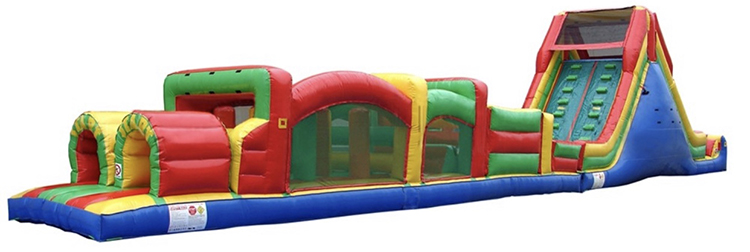 75ft Extreme Rush Obstacle Course